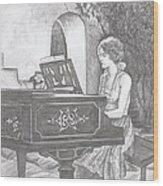 Grace's Escape Wood Print