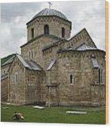 Gradac Monastery Wood Print