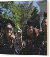 Graduation Uva Wood Print