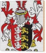 Grady Coat Of Arms Irish Wood Print