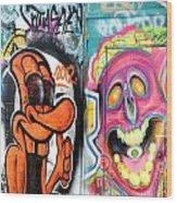 Graffiti 10 Wood Print