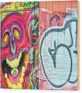 Graffiti 12 Wood Print