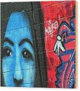Graffiti 15 Wood Print