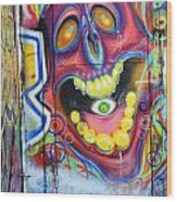Graffiti 2 Wood Print