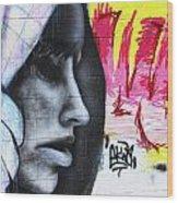 Graffiti 5 Wood Print