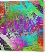 Graffiti Cubed 2 Wood Print