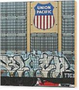 Graffiti II Wood Print