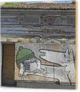 Graffiti In Veliko Tarnovo  Wood Print