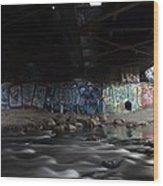 Graffiti Wood Print