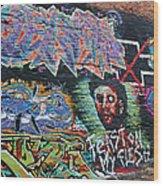 Graffiti Series 01 Wood Print