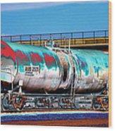 Graffiti - Toxic Tanker II Wood Print