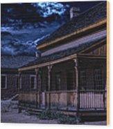 Grafton Ghost Town In Southern Utah Wood Print