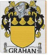 Grahan Coat Of Arms Irish Wood Print