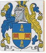 Grainger Coat Of Arms Irish Wood Print