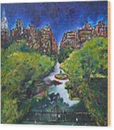 Gramercy Park Wood Print