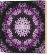 Grammy's Psychedelic Doily Wood Print