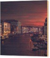 Gran Canal Wood Print