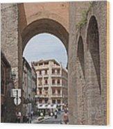 Granada Old City Gateway Wood Print