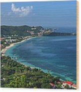 Grand Anse Bay, Grenada Wood Print