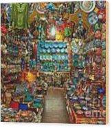 Grand Bazaar - Istanbul Wood Print