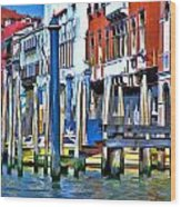 Grand Canal - Venice Wood Print