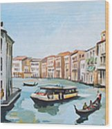 Grand Canal 2 Wood Print