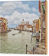 Grand Canal Apartment Wood Print