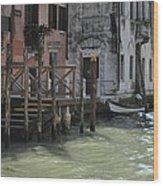Grand Canal Style Home Sweet Home Wood Print