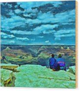 Grand Canyon # 7 - Hopi Point Wood Print