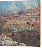 grand Canyon After the Snow Wood Print