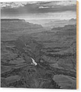 Grand Canyon And Colorado River Wood Print