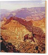 Grand Canyon Arizona Usa Wood Print