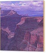Grand Canyon, Arizona, Usa Wood Print