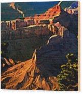 Grand Canyon At Sunset Wood Print