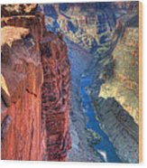 Grand Canyon Awe Inspiring Wood Print