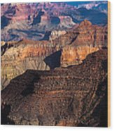 Grand Canyon Colors Wood Print