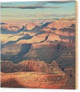 Grand Canyon Dawn Wood Print