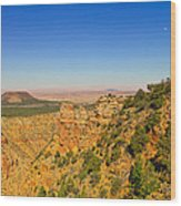Grand Canyon Desert View Wood Print