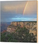 Grand Canyon Following The Storm Wood Print