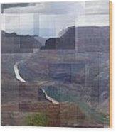 Grand Canyon Guano Point Wood Print