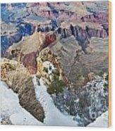 Grand Canyon In February Wood Print