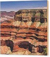 Grand Canyon Mesa Panorama Wood Print