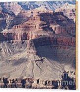 Grand Canyon Mesas Wood Print