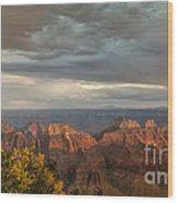 Grand Canyon North Rim Sunset Wood Print