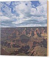 Grand Canyon Np Daytime Panorama Wood Print