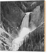 Grand Canyon Of The Yellowstone  Wood Print
