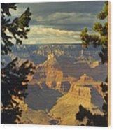 Grand Canyon Peek Wood Print