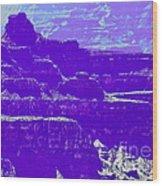 Grand Canyon Purples Wood Print