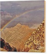 Grand Canyon Rainbow Wood Print