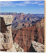 Grand Canyon - South Rim View Wood Print